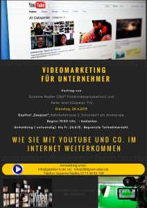 Einladung Videomarketing